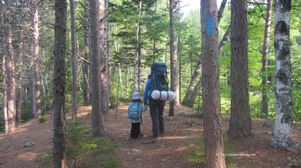 Long Pond Family Trip – Baxter State Park July2015