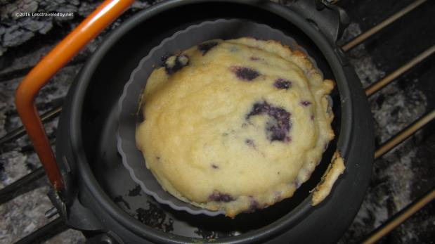 Experimental Kettle Baked Muffin – The Second Attempt